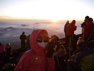 写真富士頂上