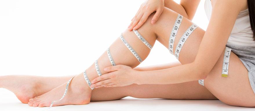 余分な筋肉をそぎ落とし、細い足を実現